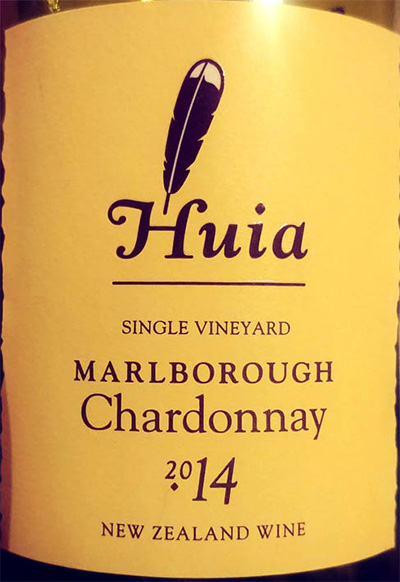 Отзыв о вине Huia Chardonnay single vineyard 2014