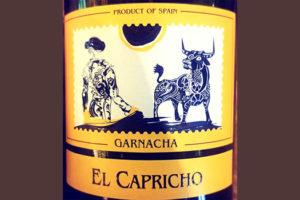 Отзыв о вине Ignacio Marin El Capricho Garnacha 2016