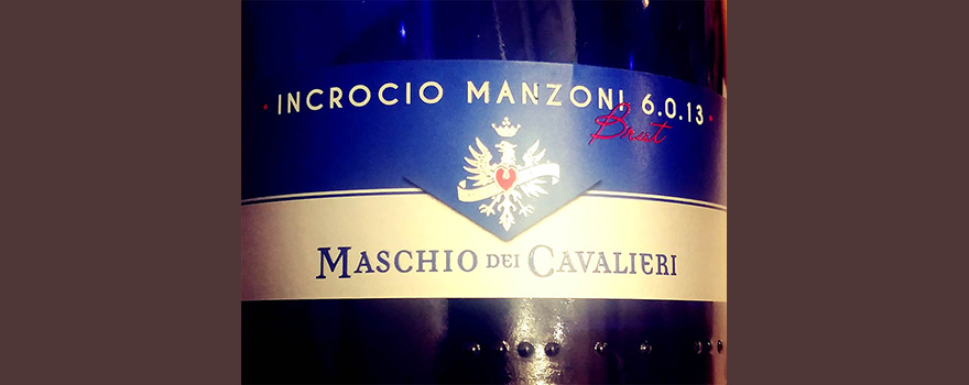Отзыв об игристом вине Incrocio Manzoni 6.03.13 Brut Maschio dei Cavalieri
