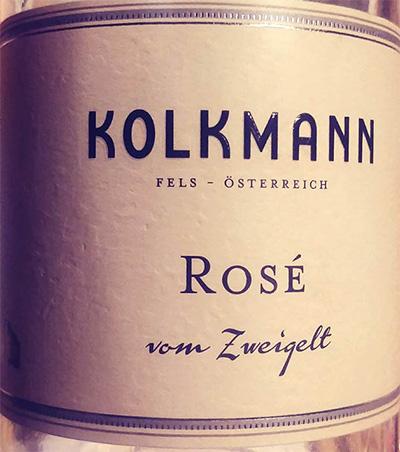 Отзыв о вине Kolkmann Rose Zweigelt 2016