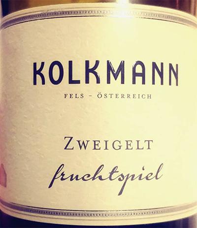 Отзыв о вине Kolkmann Zweigelt Fruchtspiel 2015