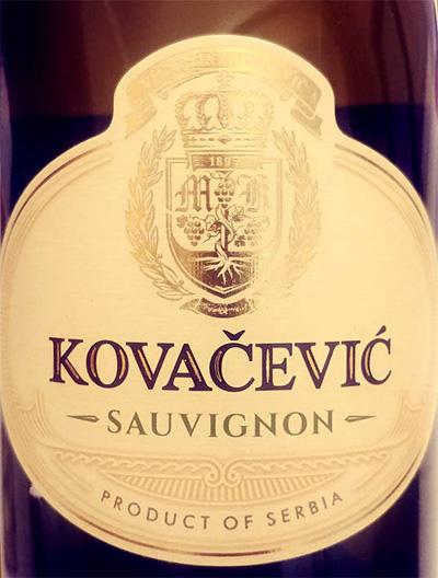 Отзыв о вине Kovacevic Sauvignon 2017