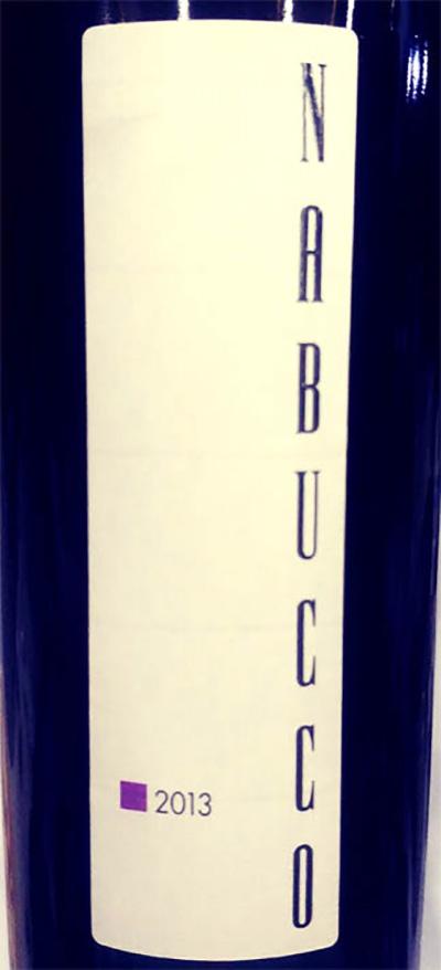 Отзыв о вине Monte delle Vigne Nabucco Rosso 2013