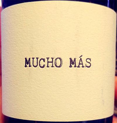Отзыв о вине Mucho Mas 2017