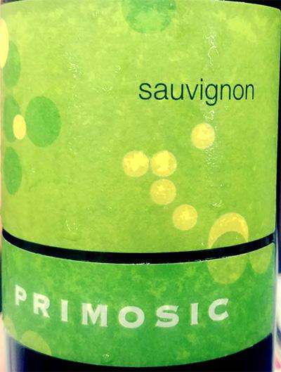 Отзыв о вине Primosic Sauvignon 2017