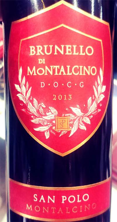 Отзыв о вине San Polo Montalcino Brunello di Montalcino 2013
