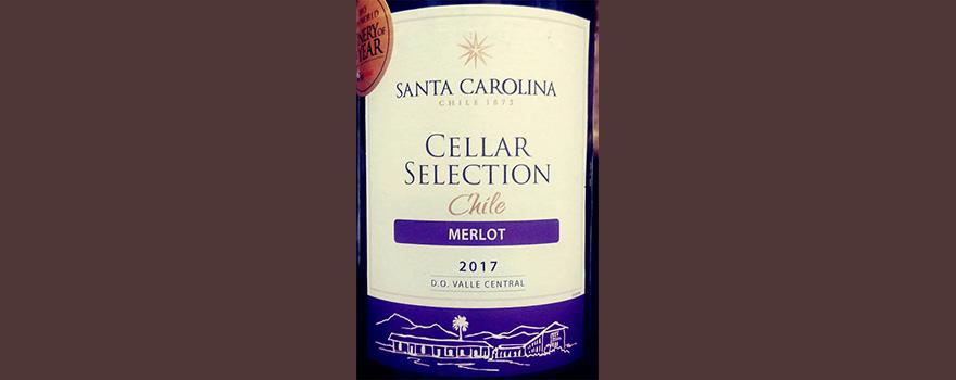 Отзыв о вине Santa Carolina Cellar selection Merlot 2017