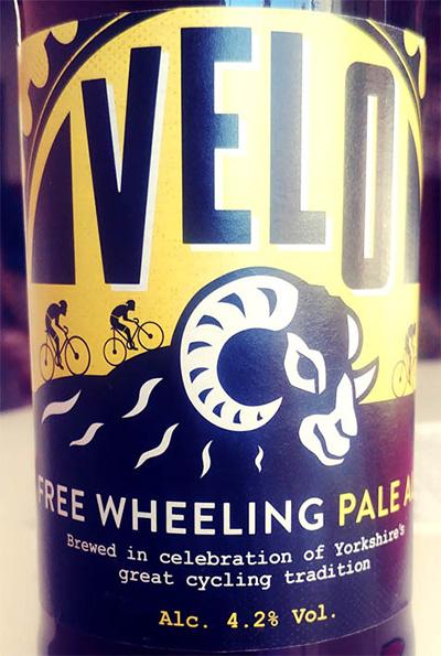 Отзыв о пиве Velo free wheeling pale ale