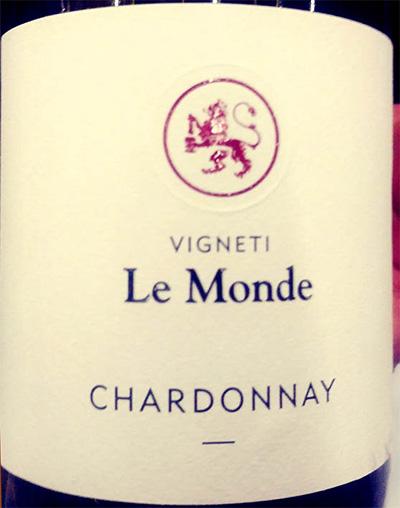 Отзыв о вине Vigneti Le Monde Chardonnay 2017