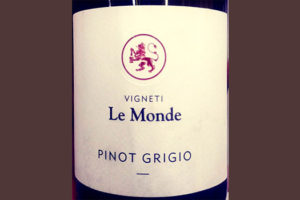 Отзыв о вине Vigneti Le Monde Pinot Grigio 2017