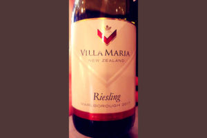 Отзыв о вине Villa Maria Riesling Private Bin 2017