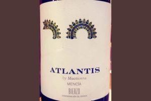 Отзыв о вине Atlantis by Maetierra Mencia Bierco 2016