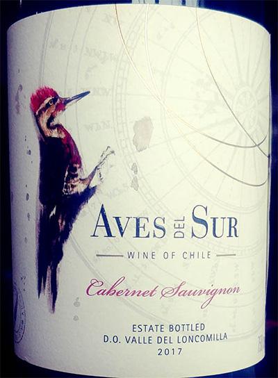 Отзыв о вине Aves del Sur Cabernet Sauvignon 2017