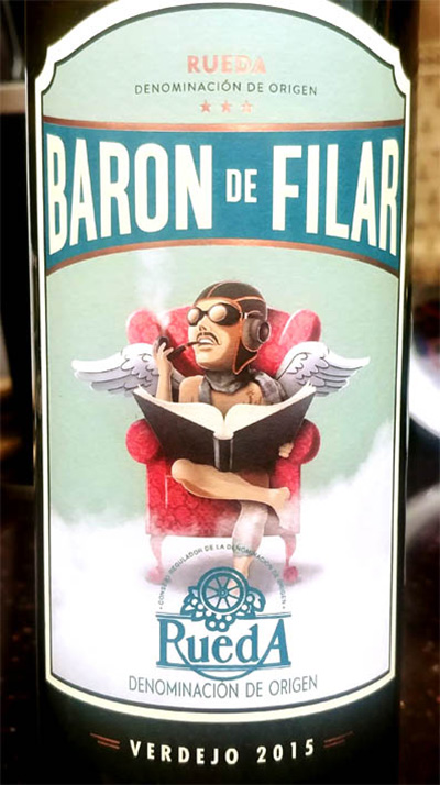 Отзыв о вине Baron de Filar Verdejo 2015