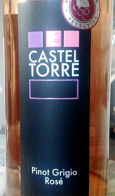 Отзыв о вине Castel Torre Pinot Grigio Rose 2017