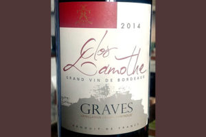 Отзыв о вине Clos Lamothe Graves rouge grand vin de Bordeaux 2014