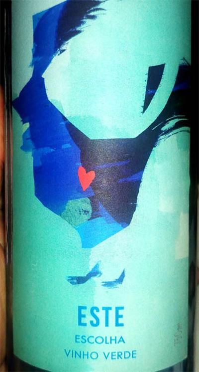 Отзыв о вине Este Escolha Vinho Verde 2017