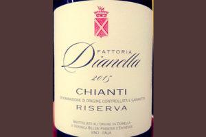 Отзыв о вине Fattoria Dianella Chianti Riserva 2015
