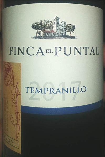 Отзыв о вине Finca el Puntal Tempranillo 2017