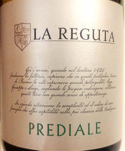 Отзыв о вине La Reguta Prediale bianco 2017