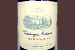 Отзыв о вине Laurent Miquel Vendanges Nocturnets Chardonnay 2017
