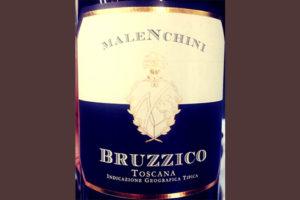 Отзыв о вине Malenchini Bruzzico Toscana 2015