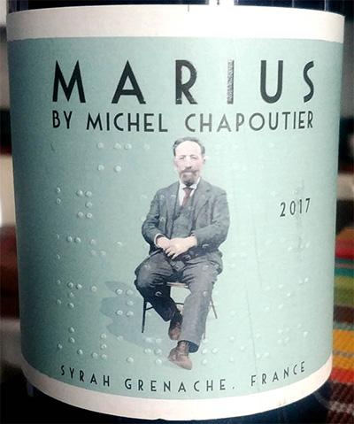Отзыв о вине Marius by Michel Chapoutier syrah grenache 2017