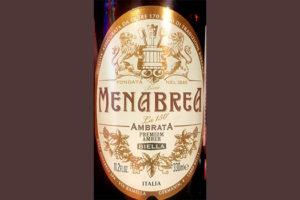 Отзыв о пиве Menabrea Ambrata birra Biella