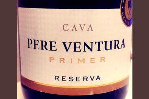 Отзыв об игристое вине Pere Ventura Cava Primer Reserva