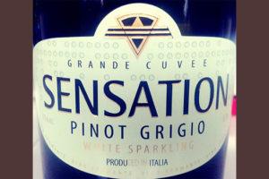 Отзыв об игристое вине Sensation Pinot Grigio Grande Cuvee