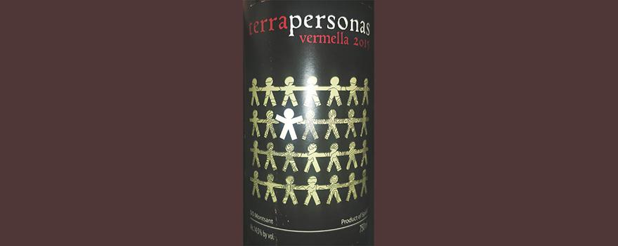 Отзыв о вине Terra Personas Vermella Montsant 2015