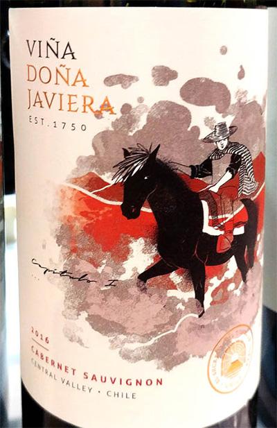 Отзыв о вине Vina Dona Javiera Cabernet Sauvignon 2016