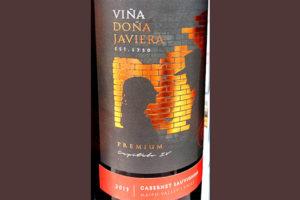 Отзыв о вине Vina Dona Javiera Cabernet Sauvignon premium 2013