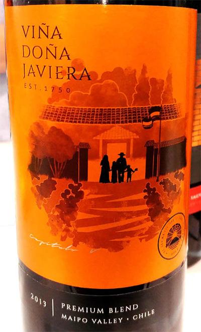 Отзыв о вине Vina Dona Javiera Premium Blend 2013