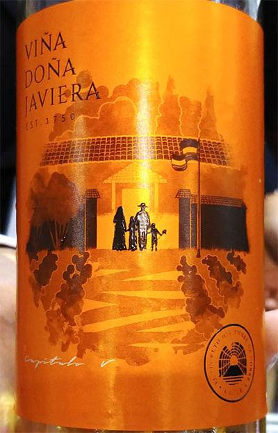 Отзыв о вине Vina Dona Javiera Sauvignon Blanc with gold 2016