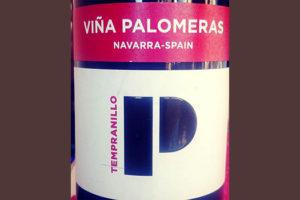 Отзыв о вине Vina Palomeres Tempranillo Navarra Spain 2016