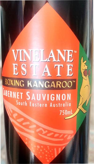 Отзыв о вине Vinelane Estate Boxing Kangaroo Cabernet Sauvignon 2016
