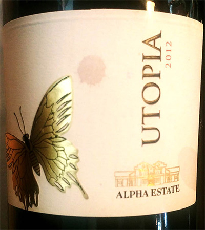 Отзыв о вине Alpha Estate Utopia Tannat 2012