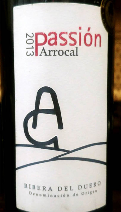 Отзыв о вине Arrocal Passion Ribeira del Duero 2013