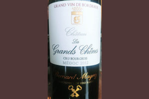 Отзыв о вине Bernard Magrez Chateau Les Grands Chenes Medoc 2012