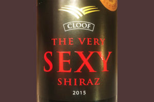 Отзыв о вине Cloof The Very SEXY Shiraz 2015
