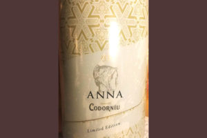 Отзыв об игристом вине Codorniu ANNA Seasonal Limited Edition brut Cava