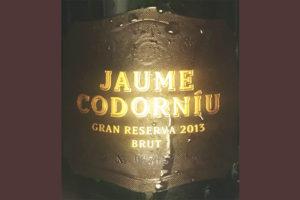 Отзыв об игристом вине Codorniu Jaume brut gran reserva 2013