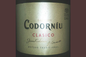 Отзыв об игристом вине Codorniu classico brut Cava