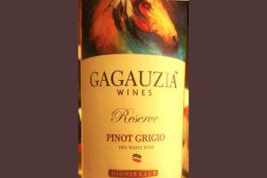 Отзыв о вине Gagauzia Wines Pinot Grigio reserve 2017