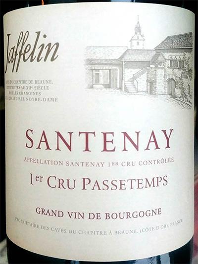 Отзыв о вине Les Chapitres de Jaffelin Satenay 1er Cru Passetemps blanc Bourgogne 2014