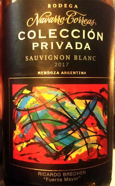 Отзыв о вине Navarro Correos Coleccion Privada Sauvignon Blanc 2017