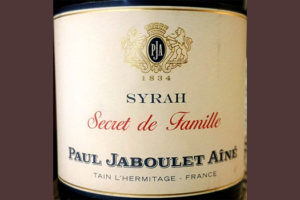 Отзыв о вине Paul Jaboulet Aine Syrah Secret de Famille 2016