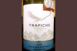 Отзыв о вине Trapiche Chardonnay Argentina 2015