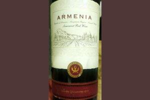 Отзыв о вине Armenia semisweet red 2017